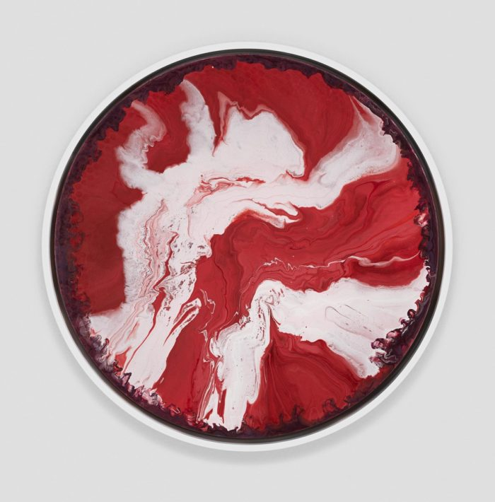 Dancing red and white cells